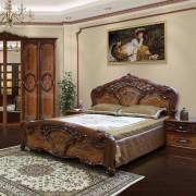 Кровать Кармен Нова — Орех
