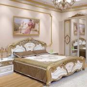 Кровать Кармен Нова — Золото