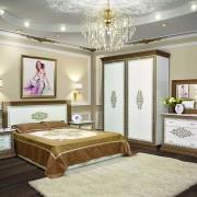 Спальня София Люкс Белая