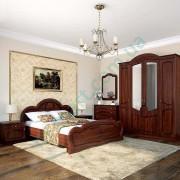 Спальня Каролина-1 Вишня портофино