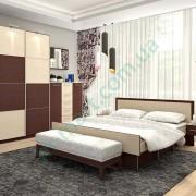 Спальня Комфорт и шкаф-купе Квадро
