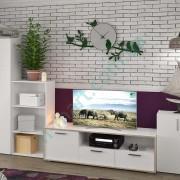 Модульная гостиная Симпл — тумба ТВ Ларс, стеллажи Джек