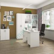 Модульный кабинет Симпл — стол Студент, стеллажи Джек