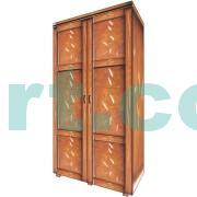 Шкаф из дерева Кантри 2Д НС