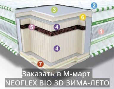 NEOFLEX BIO 3D ЗИМА-ЛЕТО